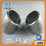 Acciaio inossidabile che misura gli accessori per tubi d'acciaio del gomito di 45D LR (KT0322)