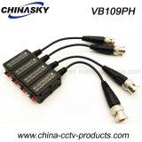 Anschließbarer BNC HD-Cvi/Tvi/Ahd CCTVBalun mit Zopf (VB109pH)