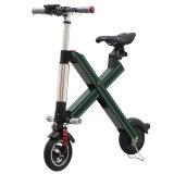 Rotelle del rifornimento della fabbrica più nuove due che piegano bicicletta elettrica