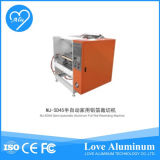 Cadena de producción automática del envase del papel de aluminio
