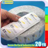 Etiquetas feitas sob encomenda do adesivo NFC da voz passiva NTAG213