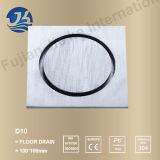 Drain d'étage de matériel de salle de bains d'acier inoxydable de qualité (D10)