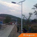 Lâmpadas de rua solares quentes do diodo emissor de luz da venda 6m Pólo 60W
