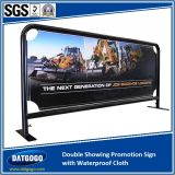 Double Showing Promotion Sign avec Waterproof Cloth