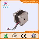 Mini motor de paso de progresión trifásico de 2 postes con eléctrico magnético