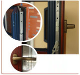 Guichet en aluminium personnalisé en bois de Chadding de couleur