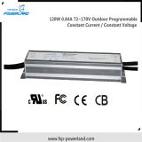120W 0.84A 72 ~ 170V ao ar livre programável corrente constante de tensão / Constante LED Driver Power Supply