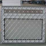 Finestra di alluminio rivestita di Andoized Surfacement della polvere con acciaio inossidabile Buglar Kz120 netto