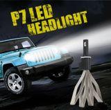 LED Hb3/9005 9600lmの調節可能な焦点ヘッドランプのフォグランプの球根