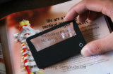 Ingrandire-vetro di Card Magnifier di accreditamento con il LED Light (HW-212)
