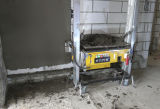 Máquina concreta da rendição da parede automática Longlife da máquina da pintura da gipsita da parede para o mercado de Dubai