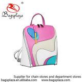 Мешок Backpack цвета специальной конструкции Backpack повелительницы PU способа Multi