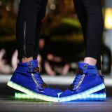 Altos zapatos de la tapa LED de Yochan para las mujeres de los hombres