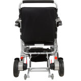 Sedia a rotelle leggera di alluminio della batteria di litio per gli anziani