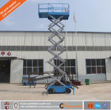 Чернь Китая электрическая гидровлическая Scissor подъем для обслуживания уличного фонаря