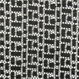 Tessuto di nylon del merletto del cotone di Raschel del vestito dal tessuto di cerimonia nuziale