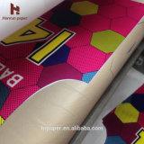 Papel de tecido de 30GSM na máquina rotativa Calander / Roller Heat Press
