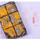PU-Erh Mini Fermented Tea com Golden Chrysanthemum Flower Flavour em Gift Box