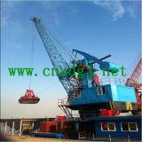 ボートの捕獲クレーン、海洋の積み込みクレーン、海洋のグリッパークレーン