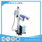 Online het Merken van de Laser van de vezel Machines op het Pakket en de Kabel van het Voedsel
