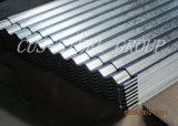 Подгонянная Corrugated гальванизированная настилая крышу панель крыши Gi волны листа/воды
