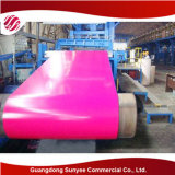 Precio de acero galvanizado edificio PPGL/PPGI de la bobina de la estructura de acero