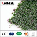 安い紫外線抵抗力がある紫色の葉のSGSのセリウムが付いている人工的なBoxwoodの両掛けのマット