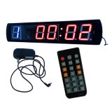 "4 ""La boxe Interval Training Clock 5 cifre LED"