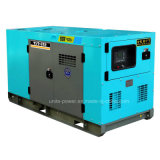Soundproof Canopy를 가진 55kVA Cummins Engine Enclosured Diesel Generator