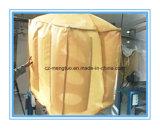 Saco grande tecido PP condutor do recipiente de FIBC com defletor para dentro