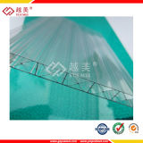 10 лет гарантированности лист поликарбоната от 1.5mm до 25mm плоский