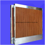 Almofada refrigerar evaporativo do porão da indústria para o refrigerador de ar