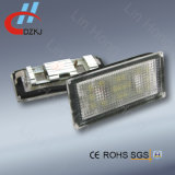 Lámpara de la matrícula del LED para el salón 01-08 de BMW E65/E66