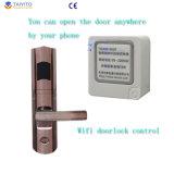 WiFiのコントローラのホテルまたはアパートのためのスマートなWiFiの電子ドアロック