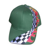 Gebürstetes Twill Cotton Promotional Cap mit Embroidery Logo (CH407W)