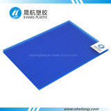 PC Plastic Sun Sheet de 8mm Clear Polycarbonate para Greenhouse