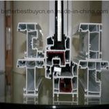 Guichet populaire de la qualité UPVC/PVC avec la bande décorative