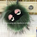 주문을 받아서 만들어진 다채로운 견면 벨벳 모피 괴물
