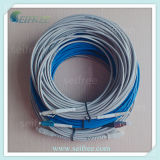 Indoor Cabling Equipment를 위한 기갑 Fiber Optic Patch Cord Cable
