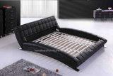 A059現代革ホーム家具のベッド