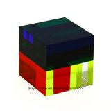 colonne montanti acriliche stabilite del cubo acrilico quadrato 3piece