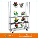 Pó Coating Flower Transport Cart para Sale