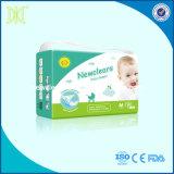 赤ん坊の心配OEMの赤ん坊のおむつのPEのフィルムの使い捨て可能な赤ん坊のおむつ