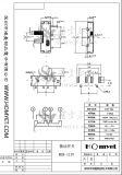 Переключатель кнопка/переключатель скольжения (MSK-1157)
