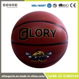 Baloncesto laminado vejiga de goma del PVC