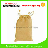 Divers sac de poche de cadeau de cordon de couleurs avec le guichet de PVC pour l'emballage de chocolat
