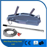 0.8t Wire Rope Sling Type Manual Hand Winch