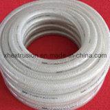Boyau de tissu-renforcé de PVC de qualité faisant la machine