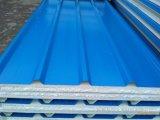 Helle Stahlfarben-gewölbtes Polystyren-Sandwich-Panel