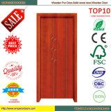 Porte intérieure en bois de matériaux de construction